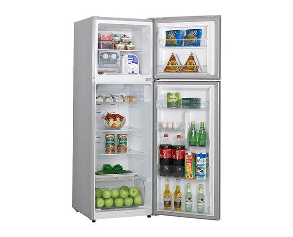 230L Hisense Top Mount Stainless Steel Fridge